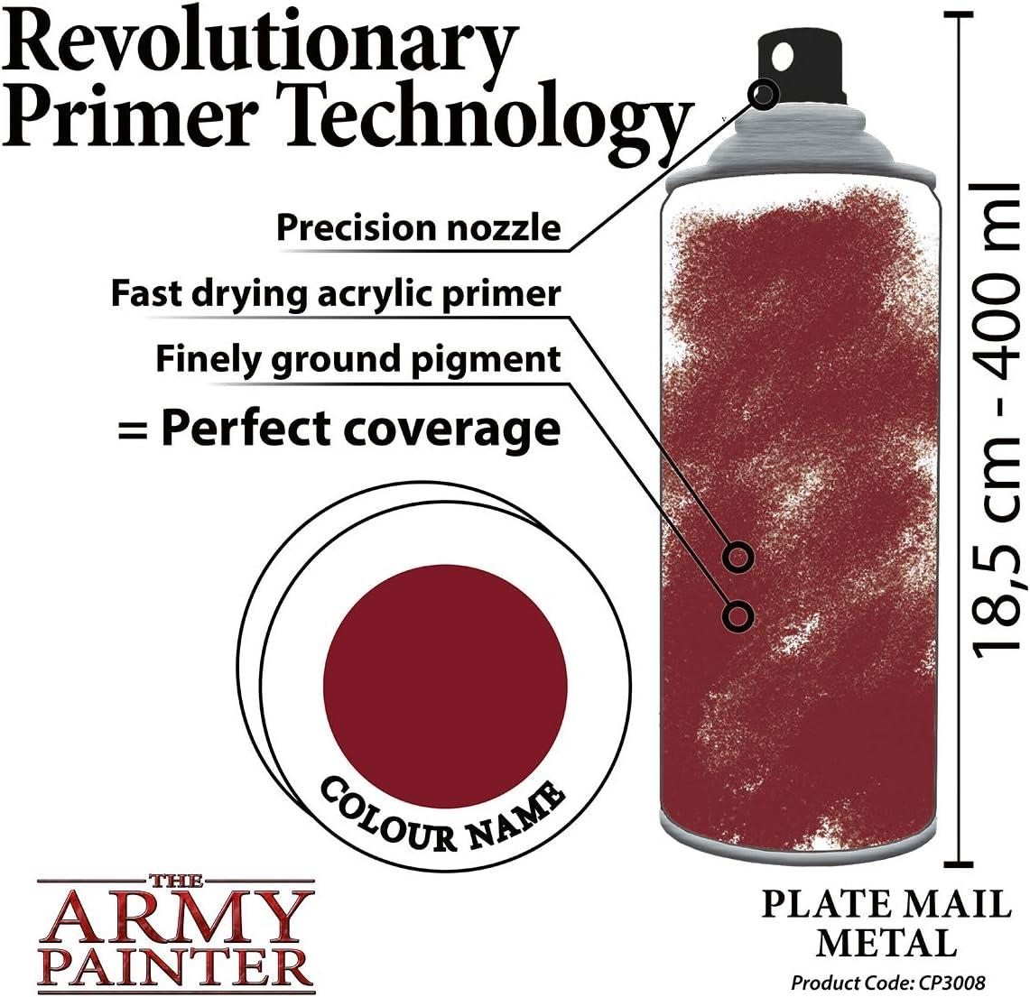 Matt Black TAPCP3001 Army Painter Base Primer