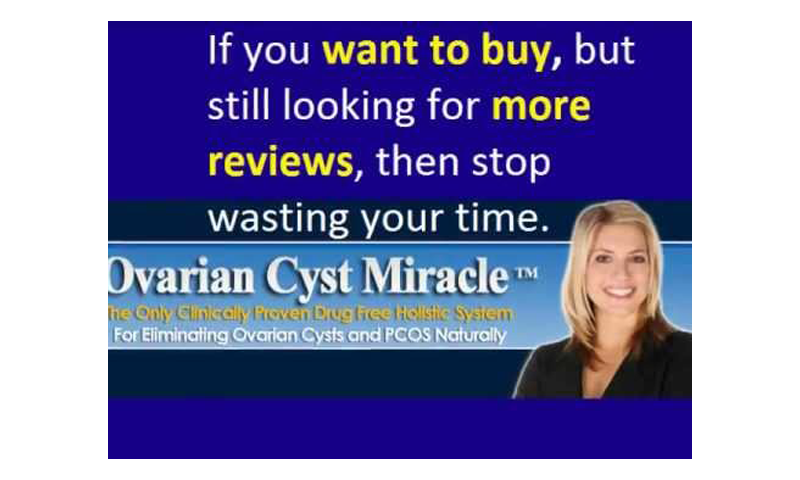 Ovarian cyst miracle scam