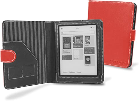 Cover-Up M6-LZ33-1SQA - Carcasa para ebook Kobo Aura, rojo ...