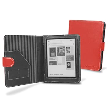 Cover-Up M6-LZ33-1SQA - Carcasa para ebook Kobo Aura, rojo: Amazon ...