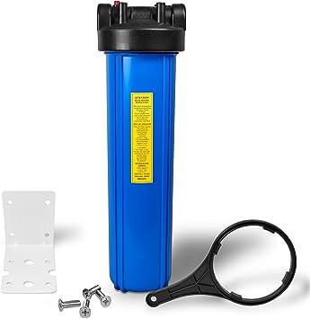 "Water Filter Housing 2.5/"" x 20/"" Pressure Cap Release Pack of 8"