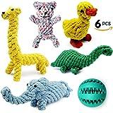 Dog Toys, Nesoul Dog Teething Toys Puppy Dog Pet Cotton Rope Chew Toys For Small Medium Breeds