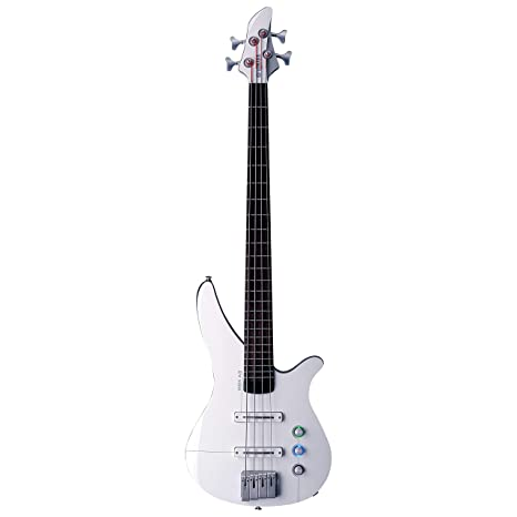 Yamaha rbx4 a2 Electric Guitar Solid 4strings Rosewood, White – Guitars (4 Strings)