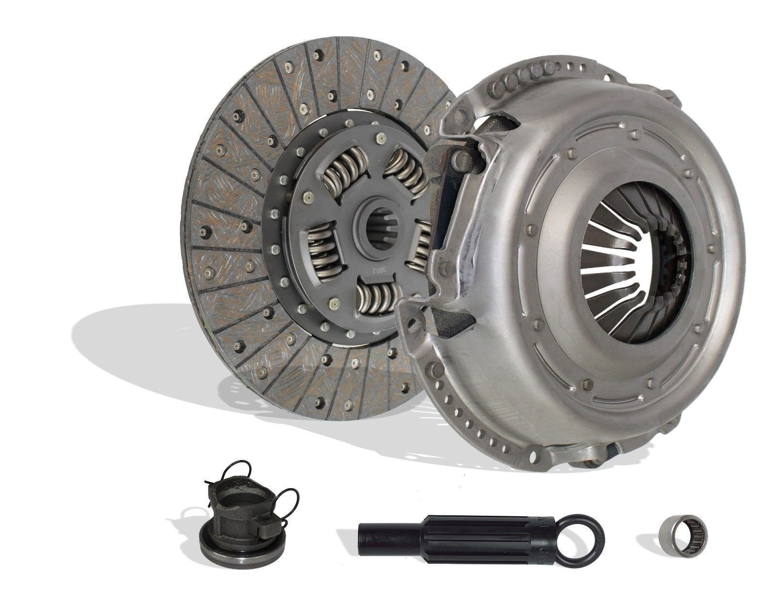Clutch Kit Works With Jeep Wrangler Unlimited X Sport Rubicon Sahara 70th Anniversary Sport Utility X 2007-2011 3.8L V6 GAS OHV Naturally Aspirated