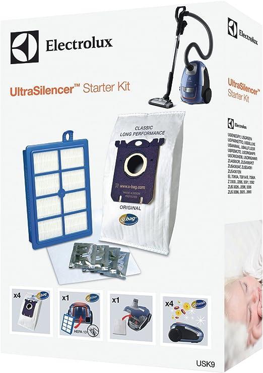 Electrolux USK9 accesorio y suministro de vacío - Accesorio para aspiradora (Color blanco, Caja, 4 pieza(s), 1 pieza(s)): Amazon.es: Hogar
