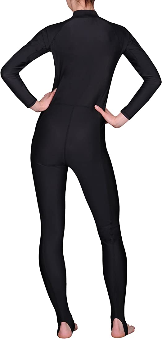 iQ-Company UV 300 Overall Watersport Trajes de Buceo para Mujer Color Negro