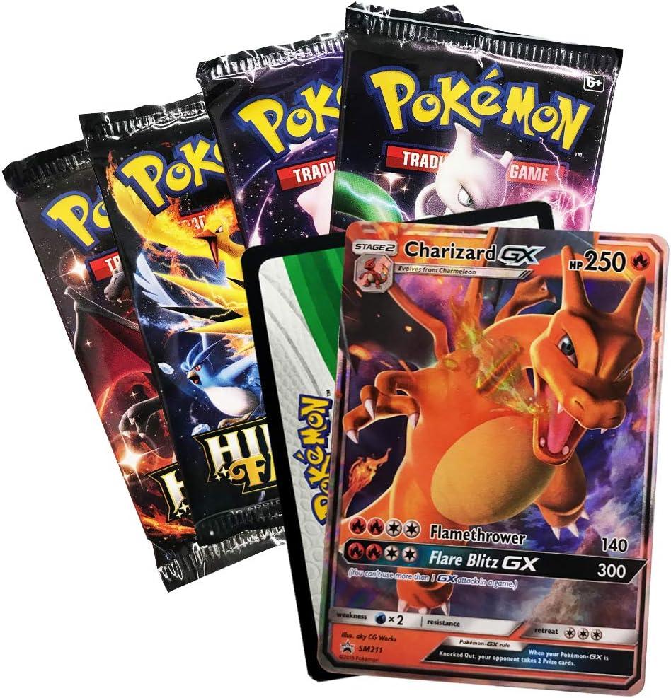Pokemon Jumbo Promo Card Box Hit Kit Protector Case Hidden Fates Charizard EX GX