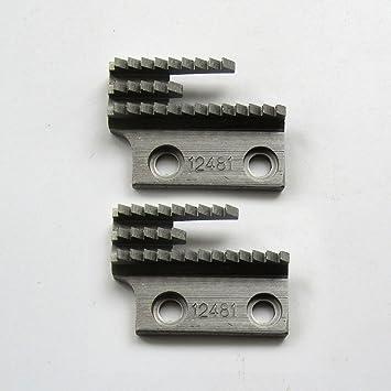 KUNPENG - 2piezas # 12481 máquina de coser diente Ajuste para JUKI BROTHER CONSEW SINGER Máquinas de aguja única: Amazon.es: Hogar