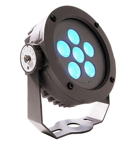 Foco Proyector LED RGB 12 W para uso exterior IP65 Viale ...