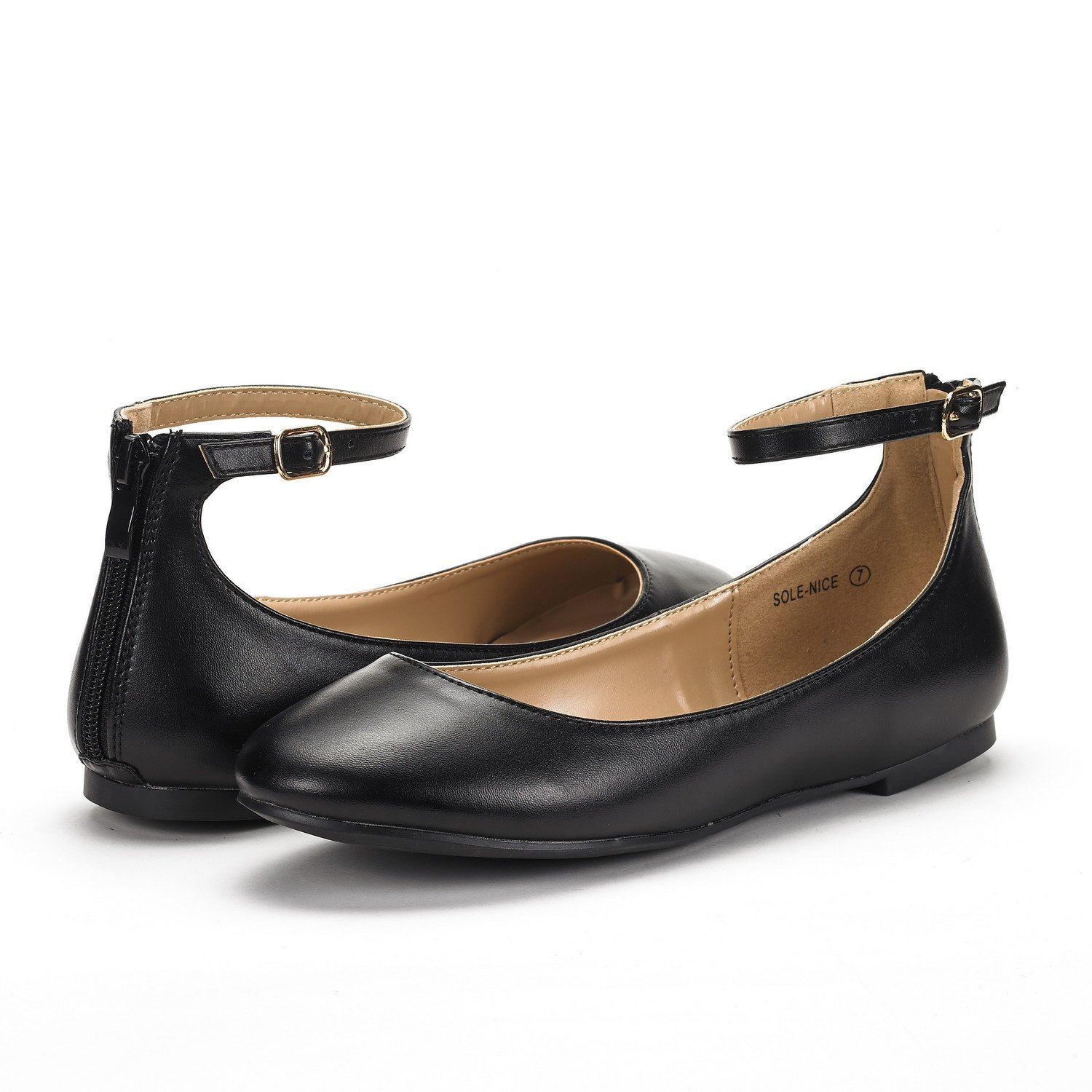 5f208db10 Amazon.com | DREAM PAIRS Women's Sole-Nice Ankle Strap Walking Flats Shoes  | Flats