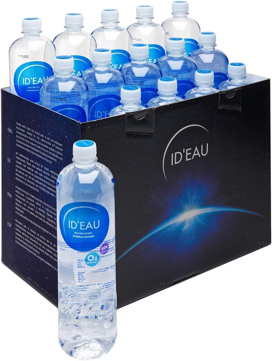 Agua Mineral ID eau regenerierendes Stilles Agua 1L XXL de Pack (24 x 1l): Amazon.es: Jardín