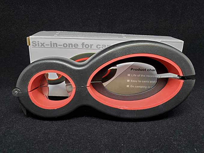 6In1 Can Jar Opener Multifunction Opener Remover Corkscrew Tools Bottle DI