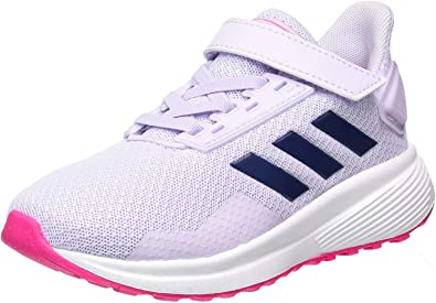 adidas Duramo 9 C Purple Mesh Child Trainers Shoes
