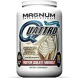 Magnum Nutraceuticals Quattro (Vanilla Ice Cream) - Pharmaceutical Grade Isolate Protein - 2lbs