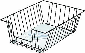 Fellowes Workstation Legal Size Desk Tray Organizer, Wire, Black (65112)