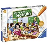 Ravensburger tiptoi Wir spielen Schule - 00733 / Erlebe interaktiv einen kompletten Schultag