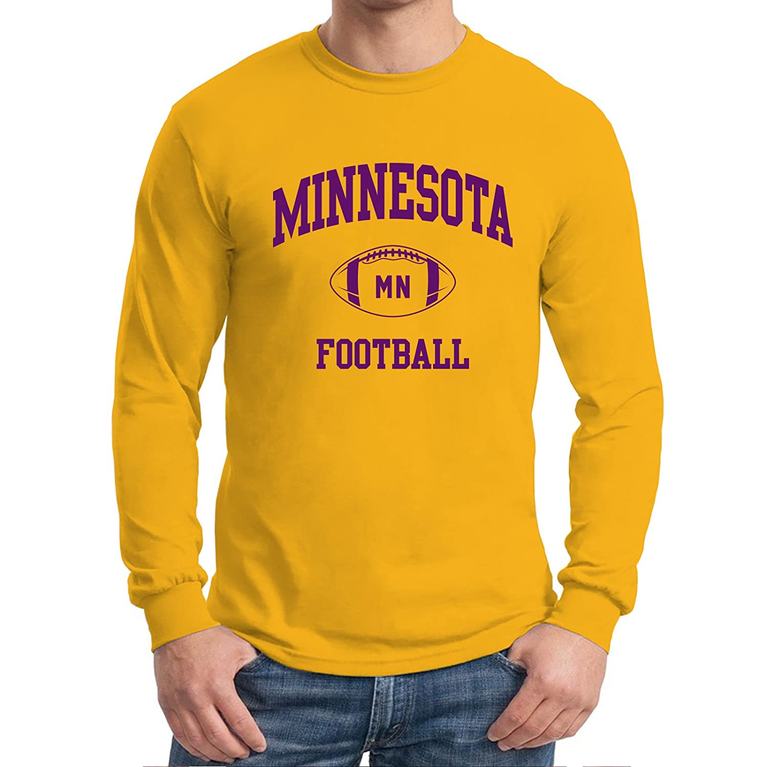 UGP Campus Apparel City Classic Football Arch American Football Team Long  Sleeve T Shirt 0d4de960c