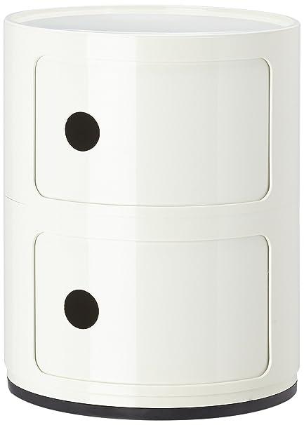 Kartell 496603 Contenitore componibile Colore: Bianco: Amazon.it ...