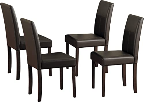 Homelegance Dover Synthetic Leather Dining Chair Set of 4