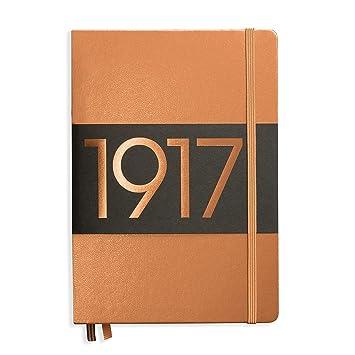 Leuchtturm 355680 - Cuaderno (Adulto, Cobre, Monótono, A5, Tapa dura, Brillante)