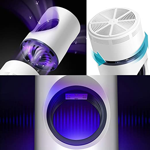 Electronic Mosquito Killer Led Light 368nm Uv Usb Power Fly Catcher Trap Lamp Travel Home Kitchen Restaurant A Great Variety Of Models Computer Peripherals Computer & Office