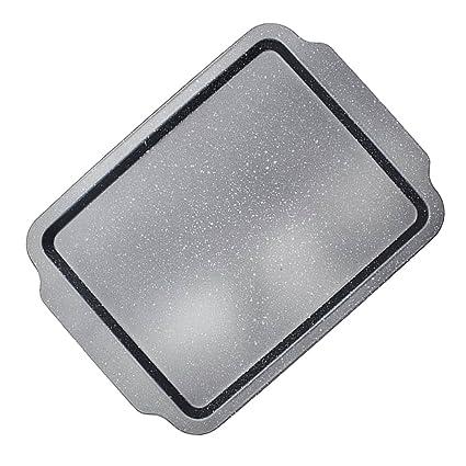 Sharplace Molde para Pan con bandeja de Torta Conductividad Térmica Duradero - Rectangular Bandeja Poco Profunda