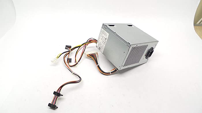 305w Power Supply PSU for Dell Optiplex 360 380 580 745 755 760 780 960 MT Mini Tower. Replaces Dell Part Numbers NH493 MH595 XK215 P192M JH994 C248C PW114 MK9GY X8129