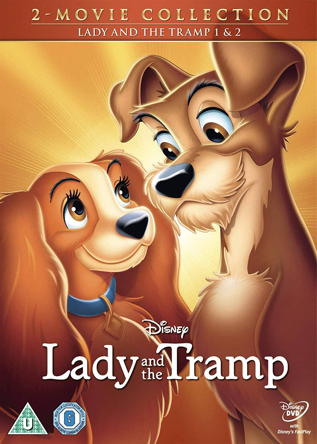 Amazon Com Lady And The Tramp Lady And The Tramp 2 Region 2 Movies Tv