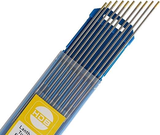 10 x Wolfram Elektrode WL20 blau WIG-Nadeln Wolframnadel Wolframnadeln