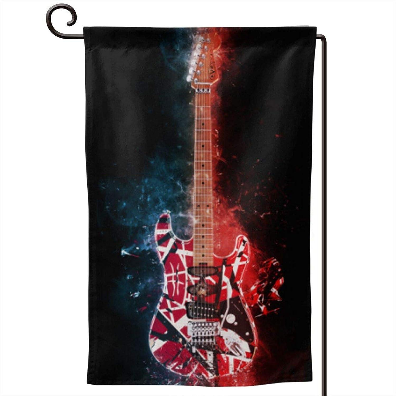 Eddie Van Halen Garden Flag - Double Sided Banners for Outdoor Indoor Home Garden Yard Decorations
