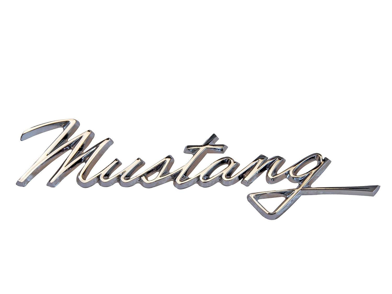 Amazon com mustang fender emblem mustang script 1968 automotive