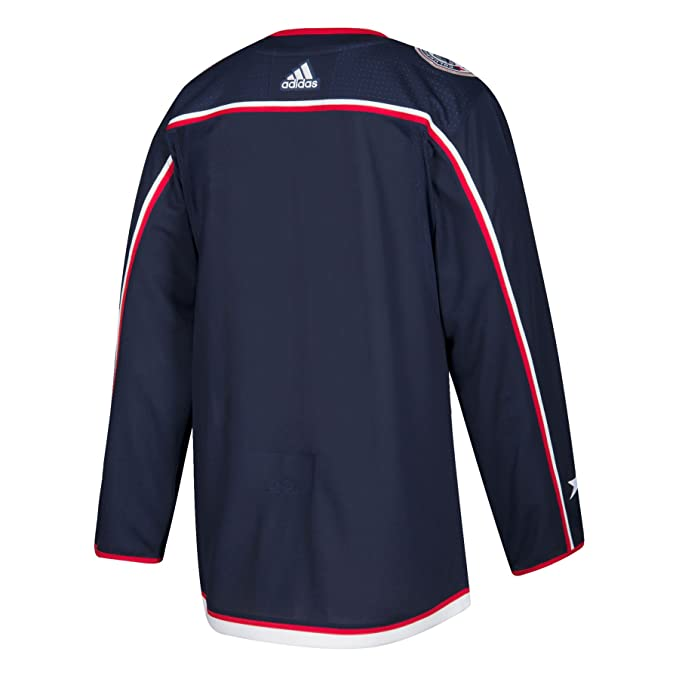 adidas Columbus Blue Jackets NHL Mens Climalite Authentic Team Hockey Jersey