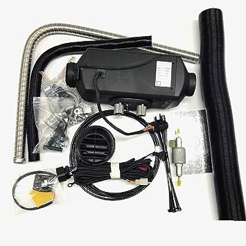 2 KW calentador de bus de aparcamiento 12 V aire calentador Diesel similar Diesel calefacción auxiliar