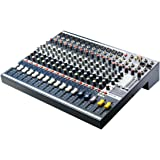 Soundcraft EFX Series EFX12 High-Performance Multi-Purpose Mixing Console with Lexicon 24-Bit Effects, 12 Mono and 2 Stereo Frame Size