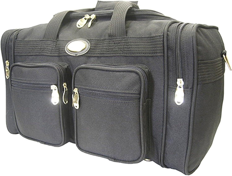 22 Black Duffel Bag By Goldenwing
