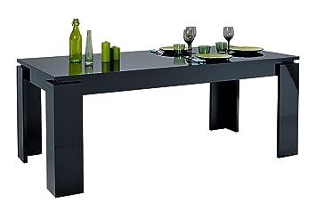 Esstisch FLOYD Schwarz Hochglanz Lack 180   220 Cm Ess Tisch Esszimmer
