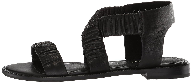 Kelsi Dagger Brooklyn Women's Ryder Flat Sandal B074XPVX82 6 B(M) US Black