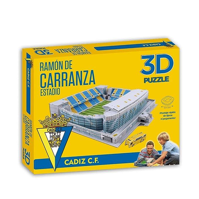 Eleven Force- Puzzle Estadio 3D Ramón Carranza (Cádiz CF) (63126),, Ninguna (1)