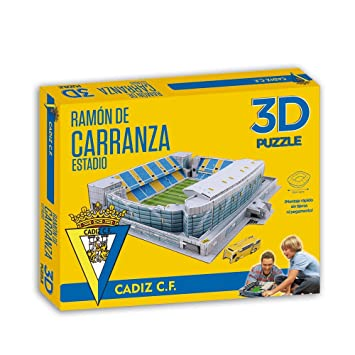 6f1940ec8b2db ELEVEN FORCE 3d Puzzle Stadium Ramón de CARRANZA  Amazon.co.uk  Toys ...