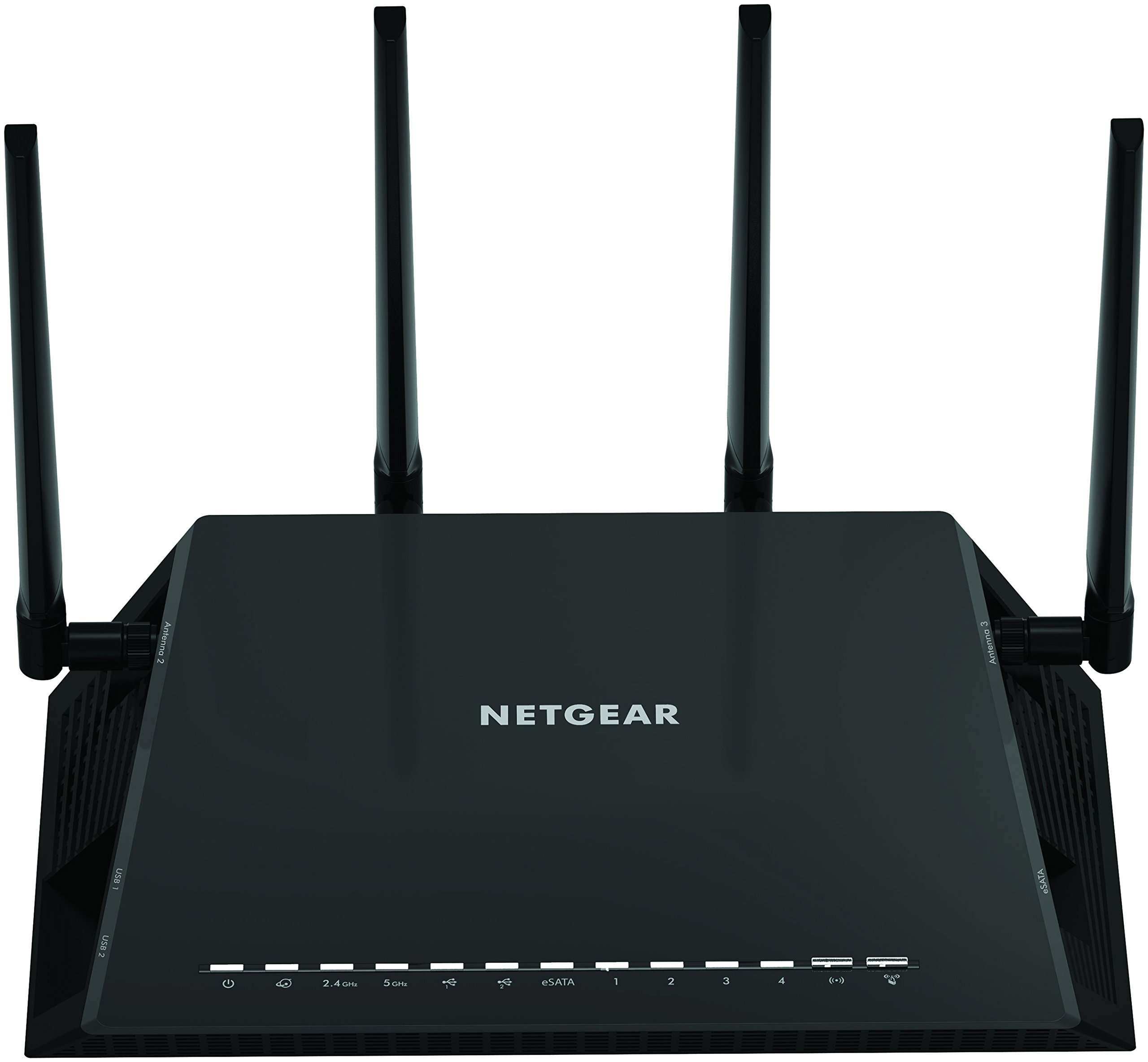 NETGEAR Nighthawk X4S - AC2600 4x4 MU-MIMO Smart WiFi Dual Band Gigabit Gaming Router (R7800-100NAS) Compatible with Amazon Echo/Alexa by NETGEAR