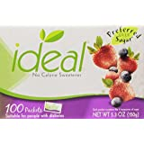 Ideal No Calorie Sweetener 100 Count Pack of 3
