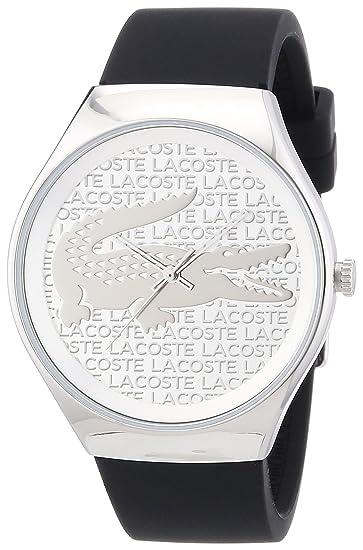 Lacoste 2010641 - Reloj del metal para hombre, color azul/plateado: Amazon.es: Relojes