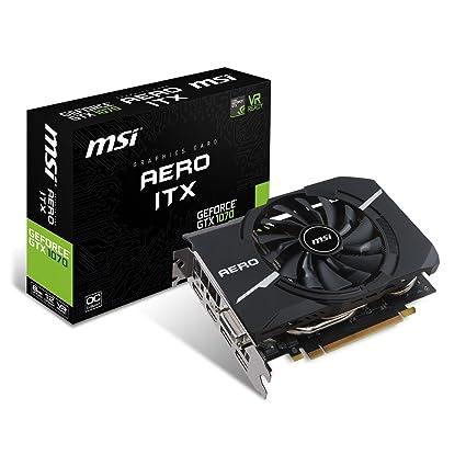 MSI GeForce GTX 1070 Aero ITX 8G OC - Tarjeta Gráfica Aero: Msi ...