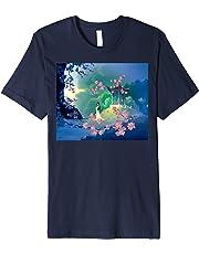 Disney Mulan Cherry Blossom Landscape Graphic T-Shirt