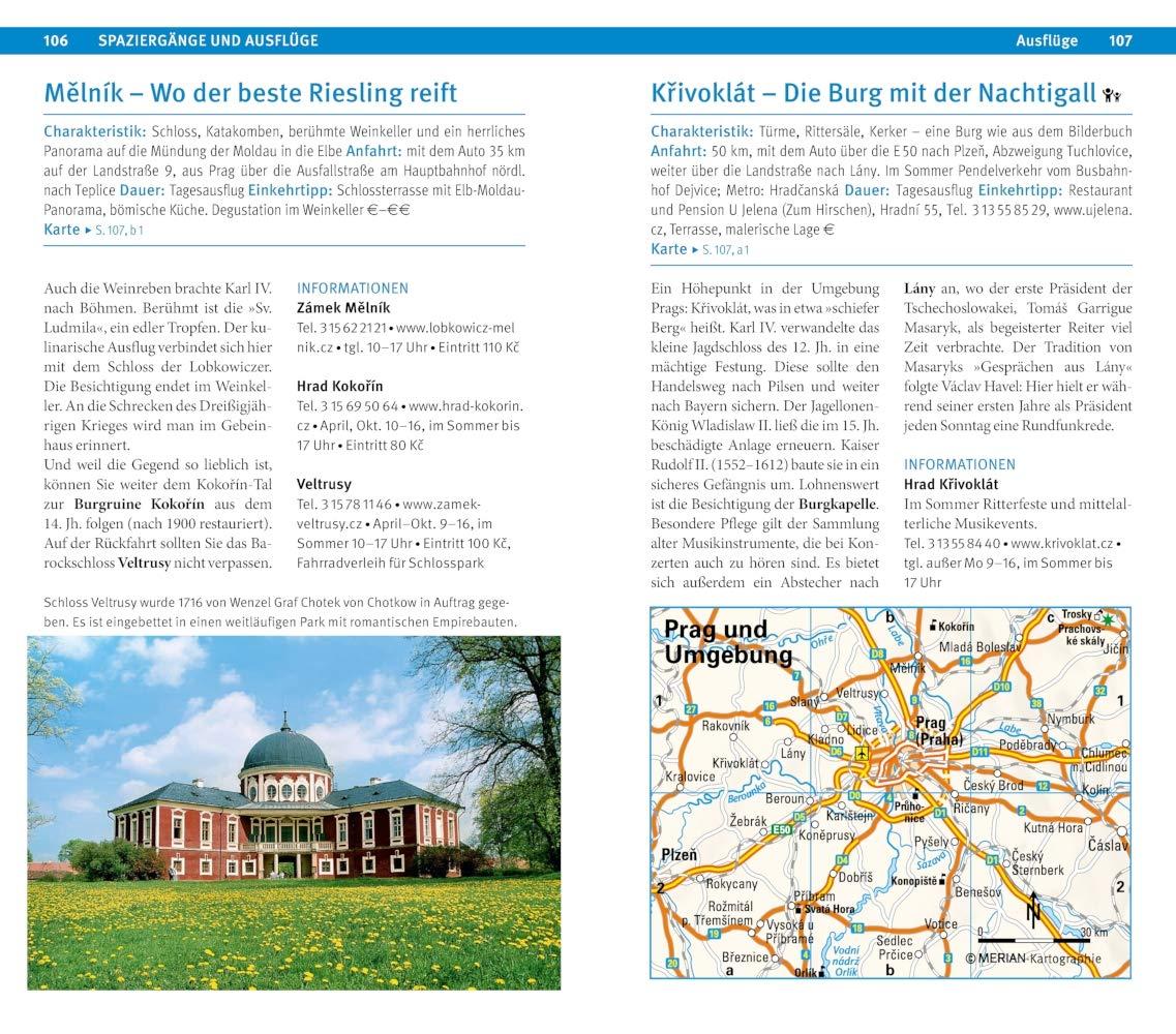 Metro Prag Karte.Merian Live Reiseführer Prag 9783834228956 Amazon Com Books