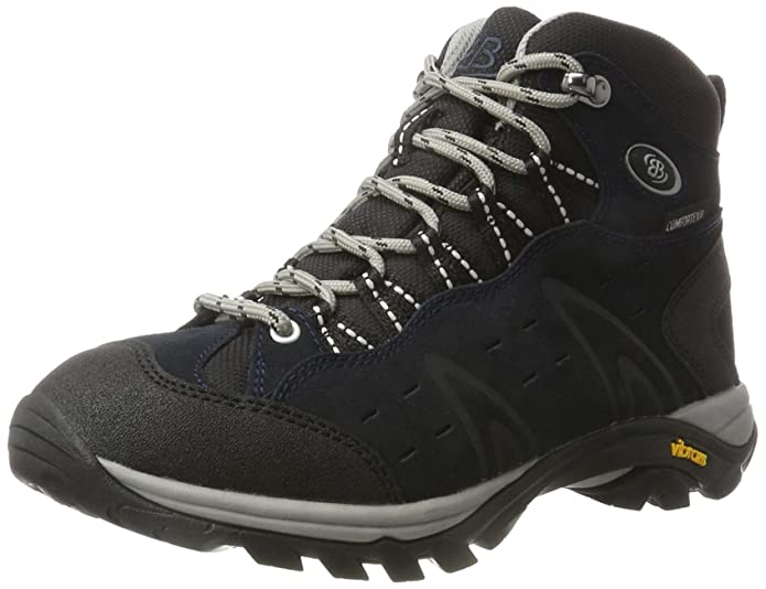 Mount Bona, Zapatos de Low Rise Senderismo Unisex Adulto, Azul (Marine Marine), 36 EU Brütting