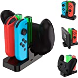 TalkWorks Joycon Charging Dock for Nintendo Switch - Controller and Joycons Charger Base Station Stand Holder - Remote Game A