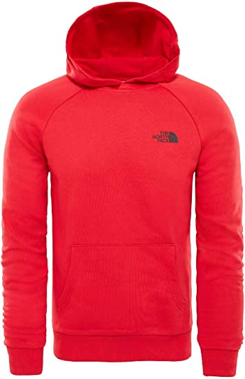 The North Face Raglan Red Box Sweat Shirts à Capuche