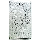 NOTCHIS Upgraded 20,000 Vase Fillers Clear Big Water Gel Beads, Floral Beads Gel Bead, Clear Water Pearls Vase Filler Bead fo
