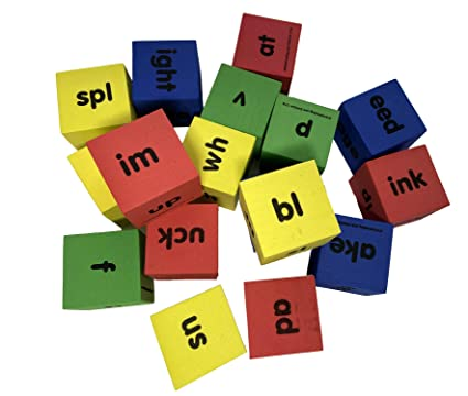 Reading Dice, Word Family Dice, Phonics Game
